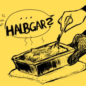 Halbgar
